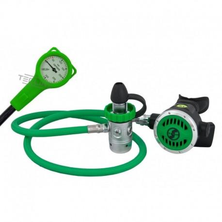Scubatech R 1 PRO O2 zestaw stage do 100% O2 (automat+manometr)