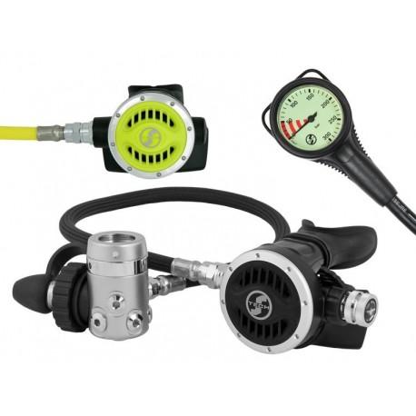 Scubatech R 5 ICE Special zestaw I (automat+oktopus+manometr)