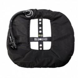 """TecLine skrzydło Donut 22 Special Edition Rebreather II - czarne (""""Opona"""" wyp.22kg/50lbs)"""