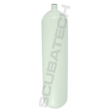 Butla Eurocylinder 12 L 171 mm 232 bar płaszcz, kolor biały