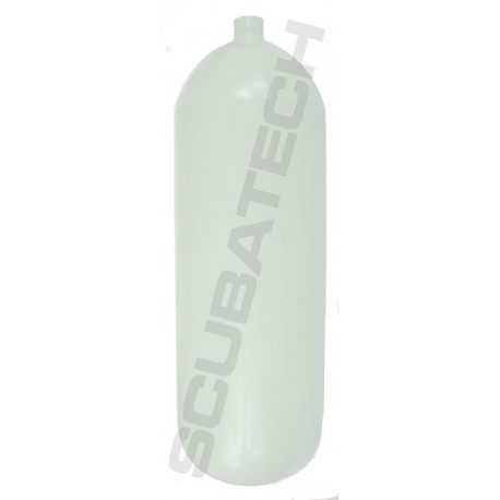 Butla Eurocylinder 15 L 203 mm 232 bar, Eurocylinder, płaszcz, kolor biały