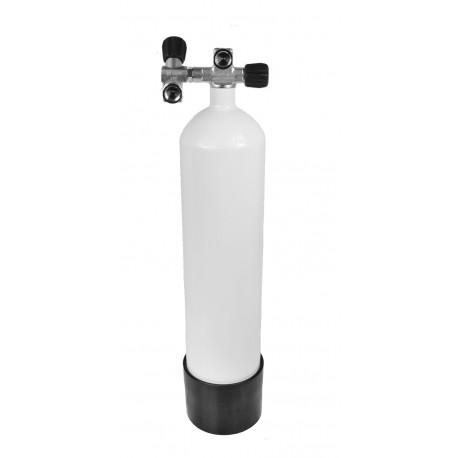 Butla Eurocylinder  7 L 140 mm 232 bar, podw.zaw.