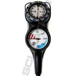 Konsola Scubatech S-Tech Combo IIK, mano. + kompas