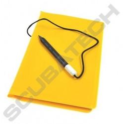 Mokry notes - żółty