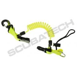 Retraktor spirala z kar. plast. żółty